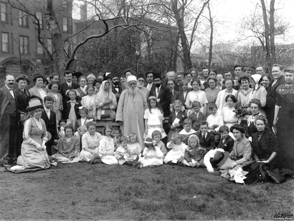 'Abdu'l-Bahá in Chicago
